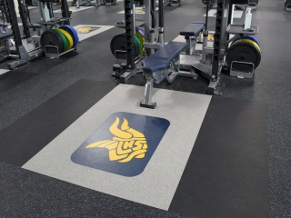 Upgrade your weight room floors or weightlifting platforms - American Platforms.