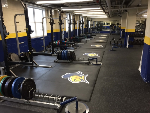 Replace your old weightlifting platforms and logos - American Platforms