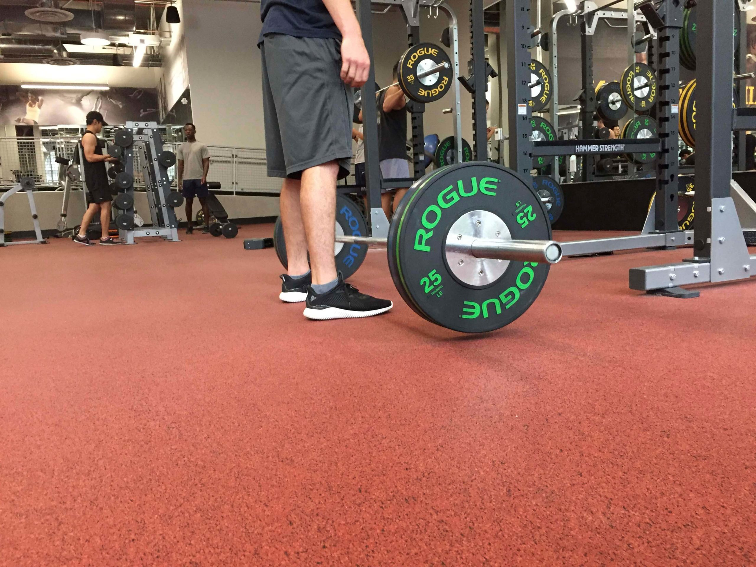 vulcanized rubber flooring for weight rooms